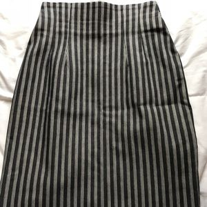 Dresses & Skirts - Knee length, pin striped, pencil skirt